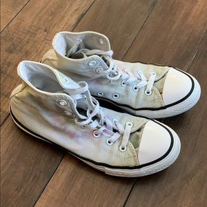 Converse all star sneakers size 3